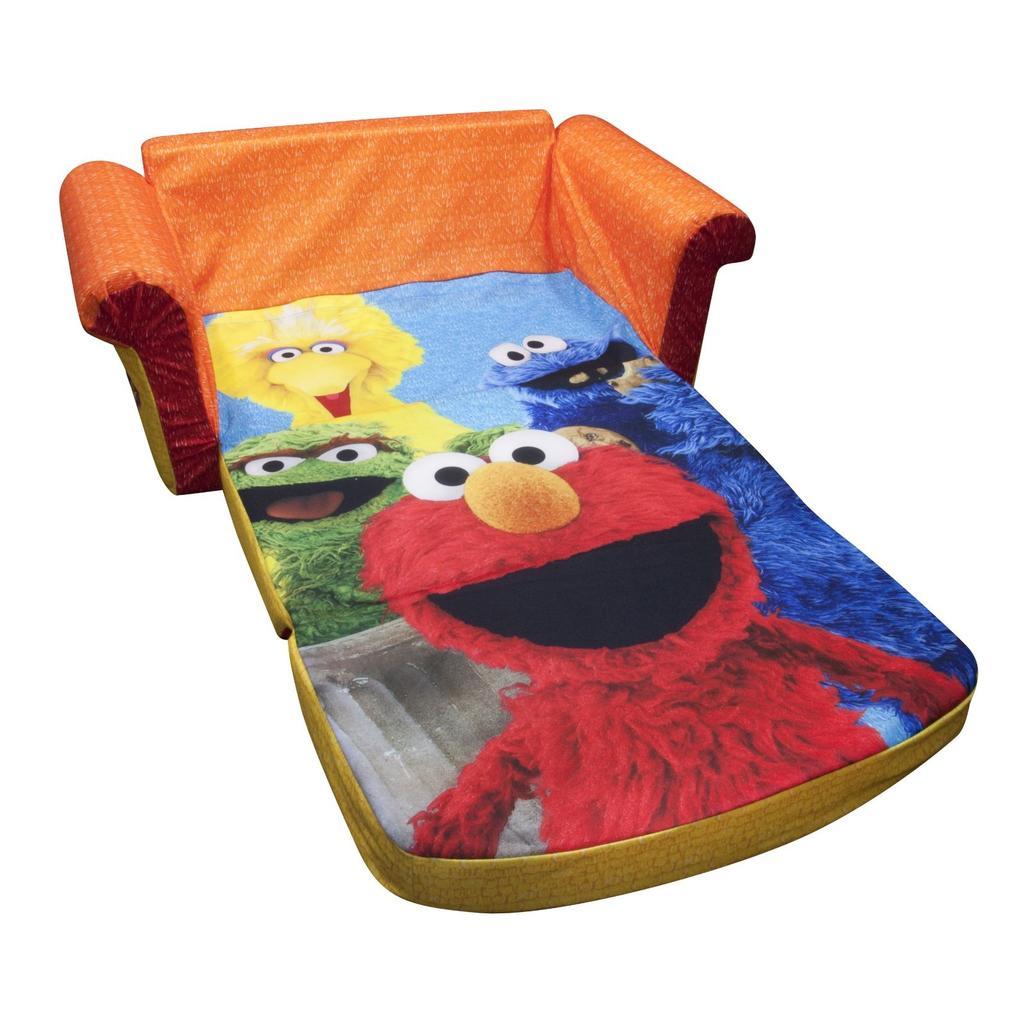 Spin Master Marshmallow Furniture Flip Open Sofa Elmo Sesame Street