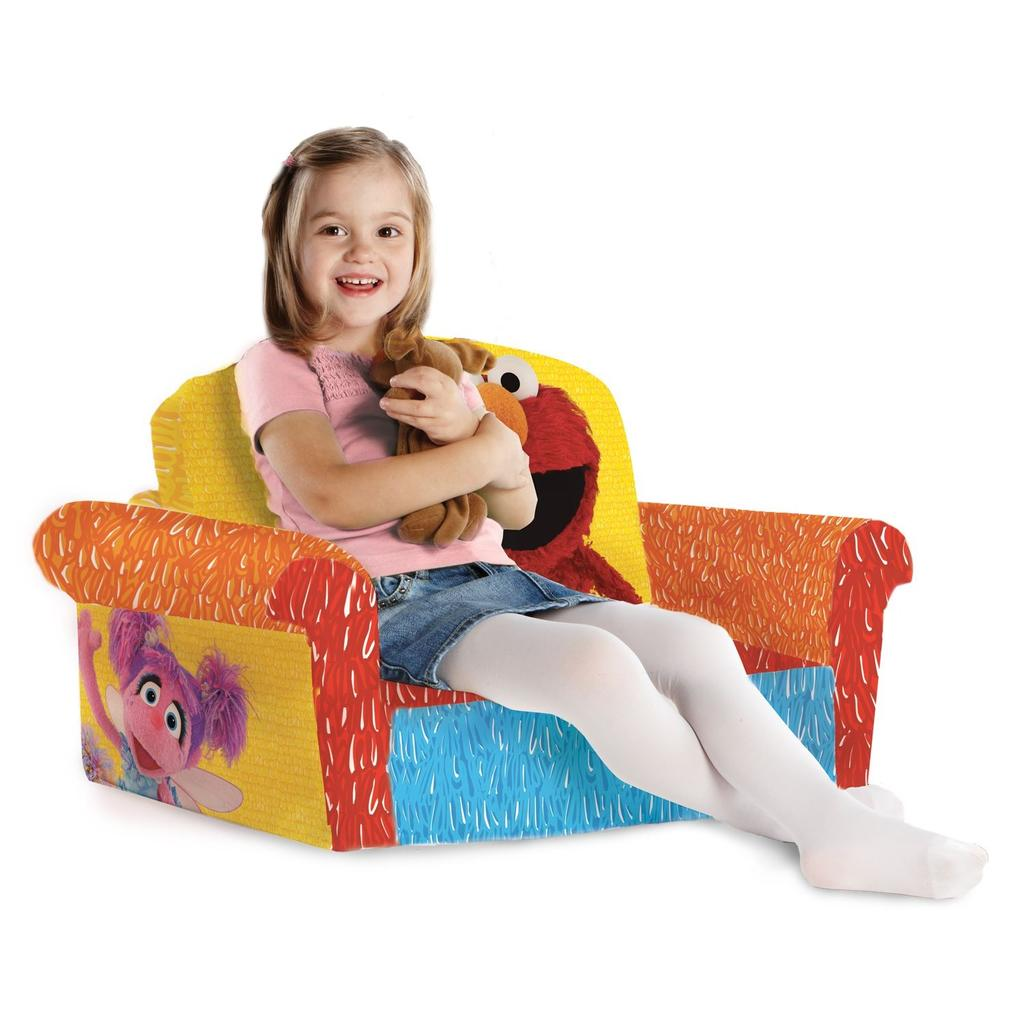 Spin Master - Marshmallow Furniture Flip Open Sofa Elmo ...