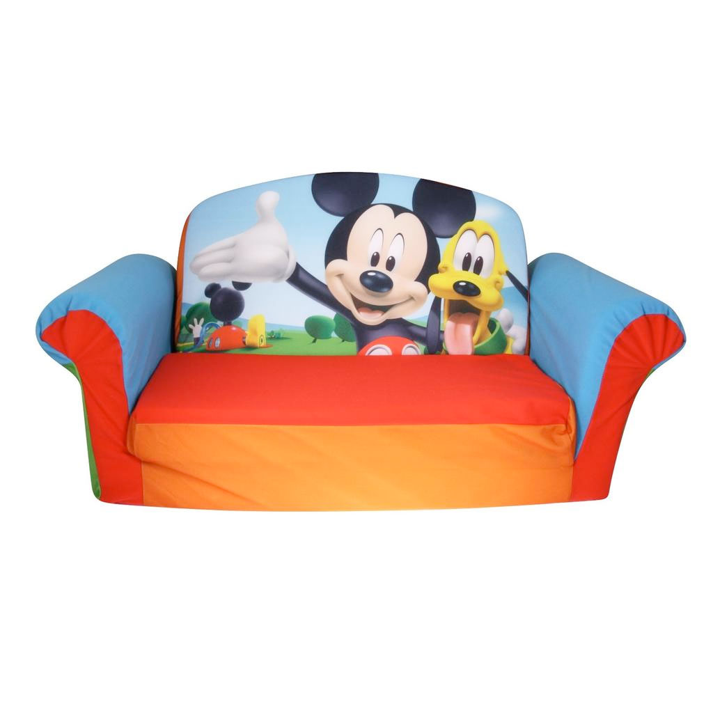 Sensational Marshmallow Furniture Flip Open Sofa Mickey Spin Master Creativecarmelina Interior Chair Design Creativecarmelinacom