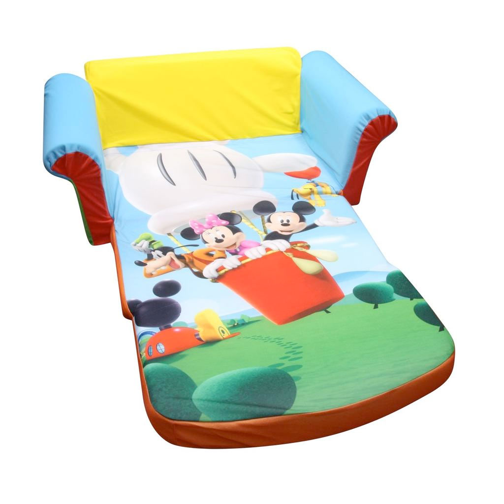 Genial Flip Open Sofa Mickey Mouse Club House