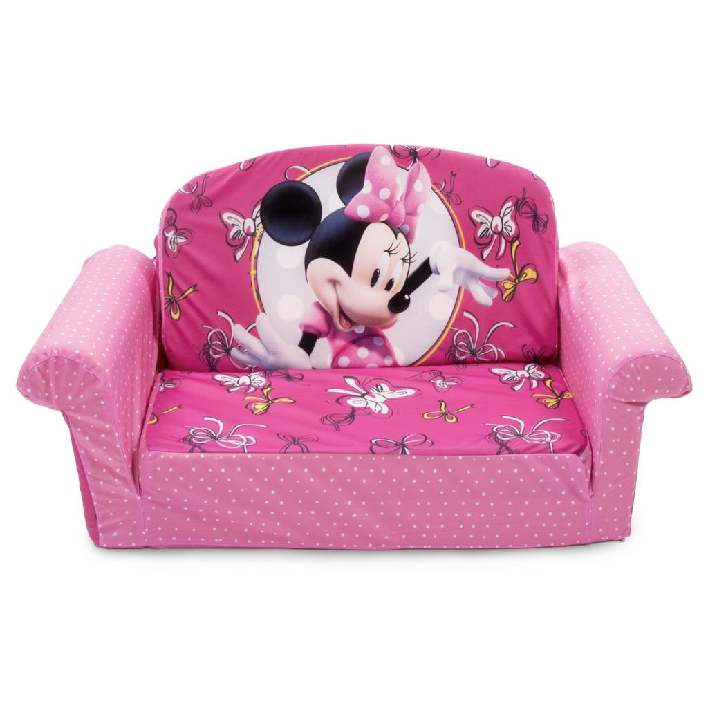 Spin Master Marshmallow Furniture Flip Open Sofa Minnie Bow Tique