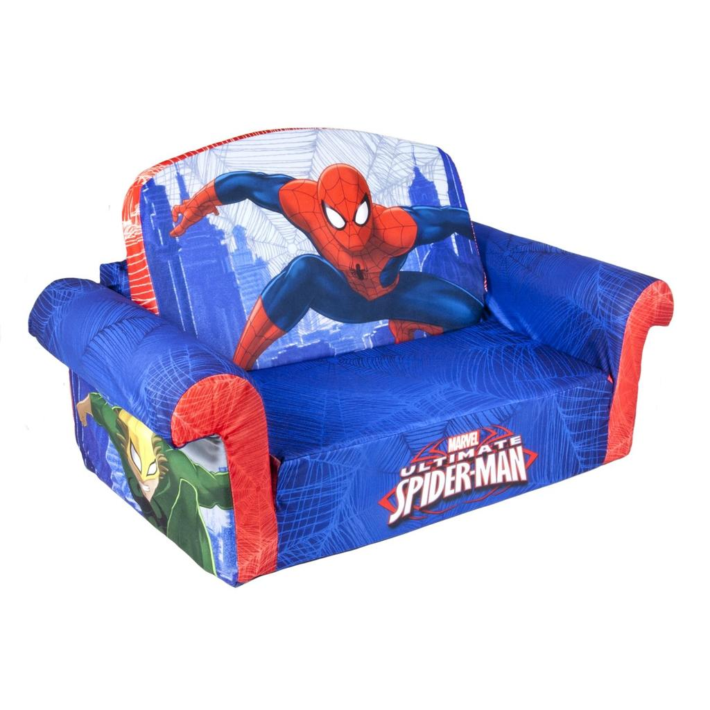 Spin Master Marshmallow Furniture Flip Open Sofa Spiderman
