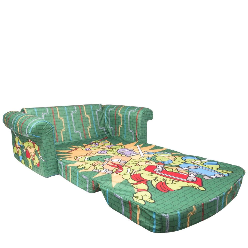 Wonderful Flip Open Sofa TMNT Retro