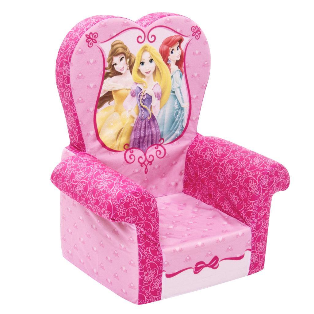 Charmant High Back Chair Disney Princess