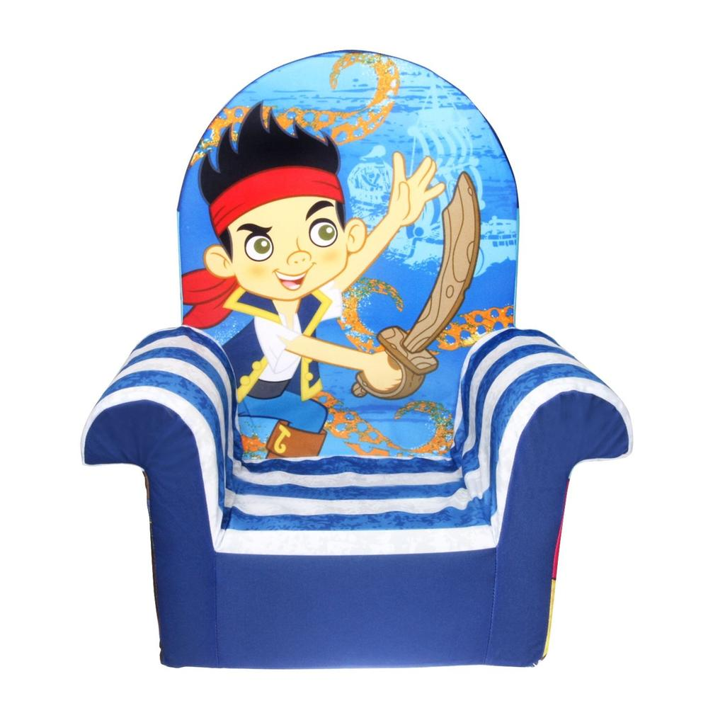Exceptionnel High Back Chair Jake U0026 Neverland Pirates
