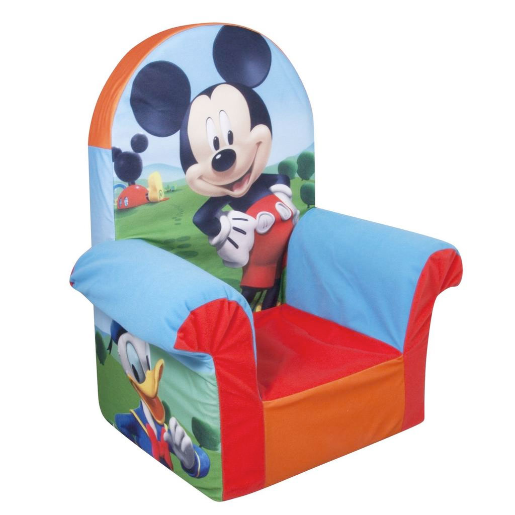 Spin Master - Marshmallow Furniture High Back Chair Mickey Mouse ...