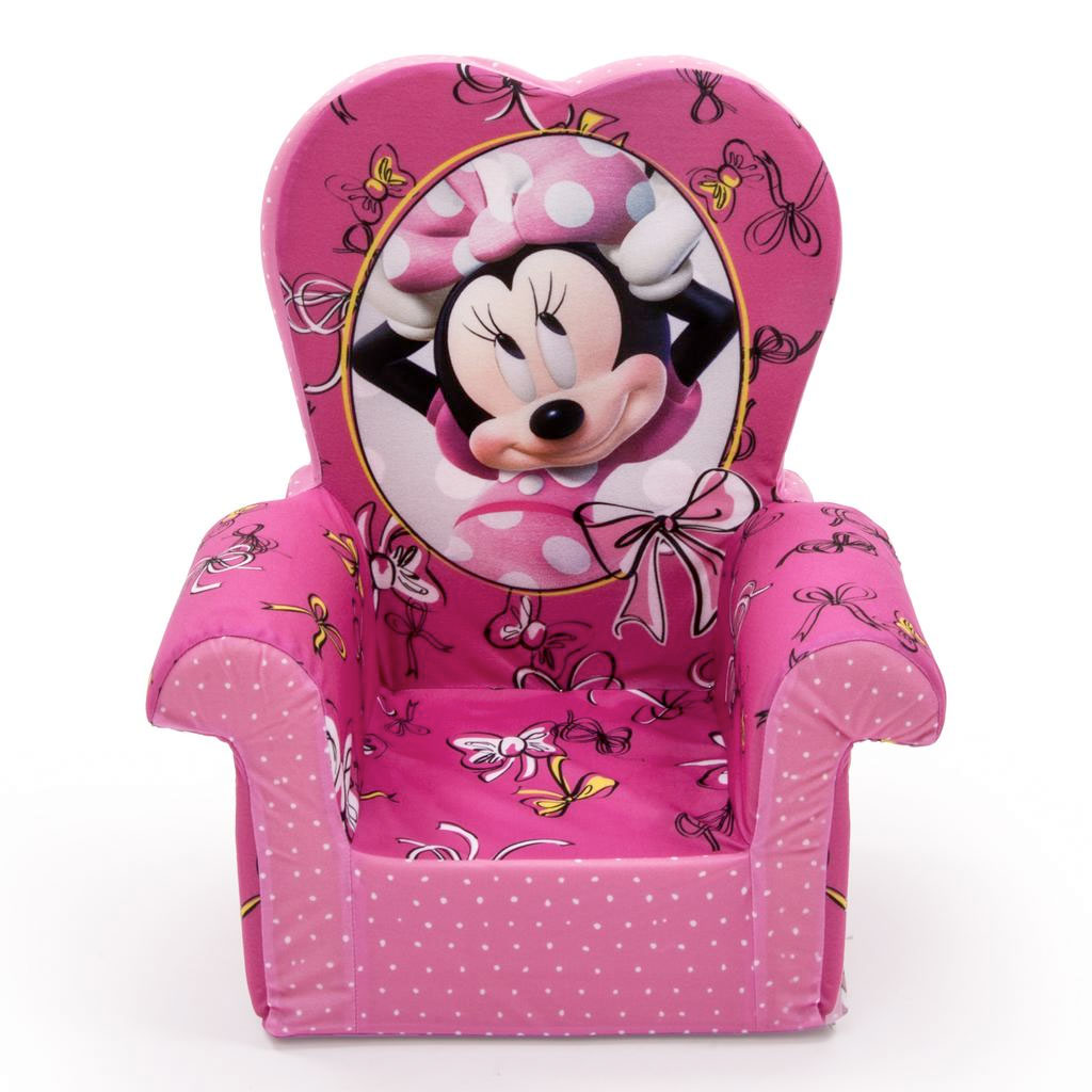 Spin Master Marshmallow Furniture High Back Chair Minnie
