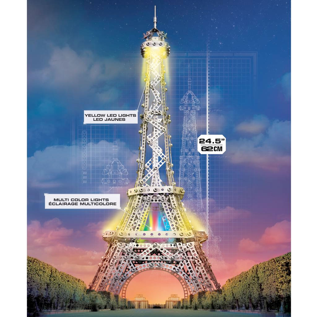 Spin Master Meccano Eiffel Tower 2 In 1 Model Set