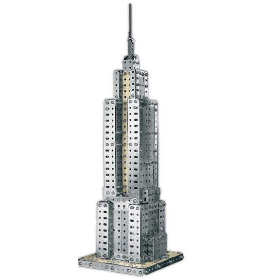 Empire State Building 2-in-1 Model Set