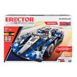 Erector by Meccano – 25-Model Supercar S.T.E.A.M. Building Kit with LED Lights