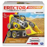 Erector by Meccano Discovery, Skid Steer STEAM Model Building Kit, for Kids Aged 5 and Up