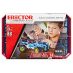 Erector by Meccano, Intro to Robotics Innovation Set, S.T.E.A.M. Building Kit with Sensors and Real Motor