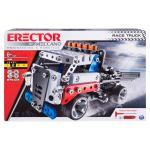 Erector by Meccano, Race Truck Model Vehicle Building Kit, STEM Engineering Education Toy for Ages 8 and Up