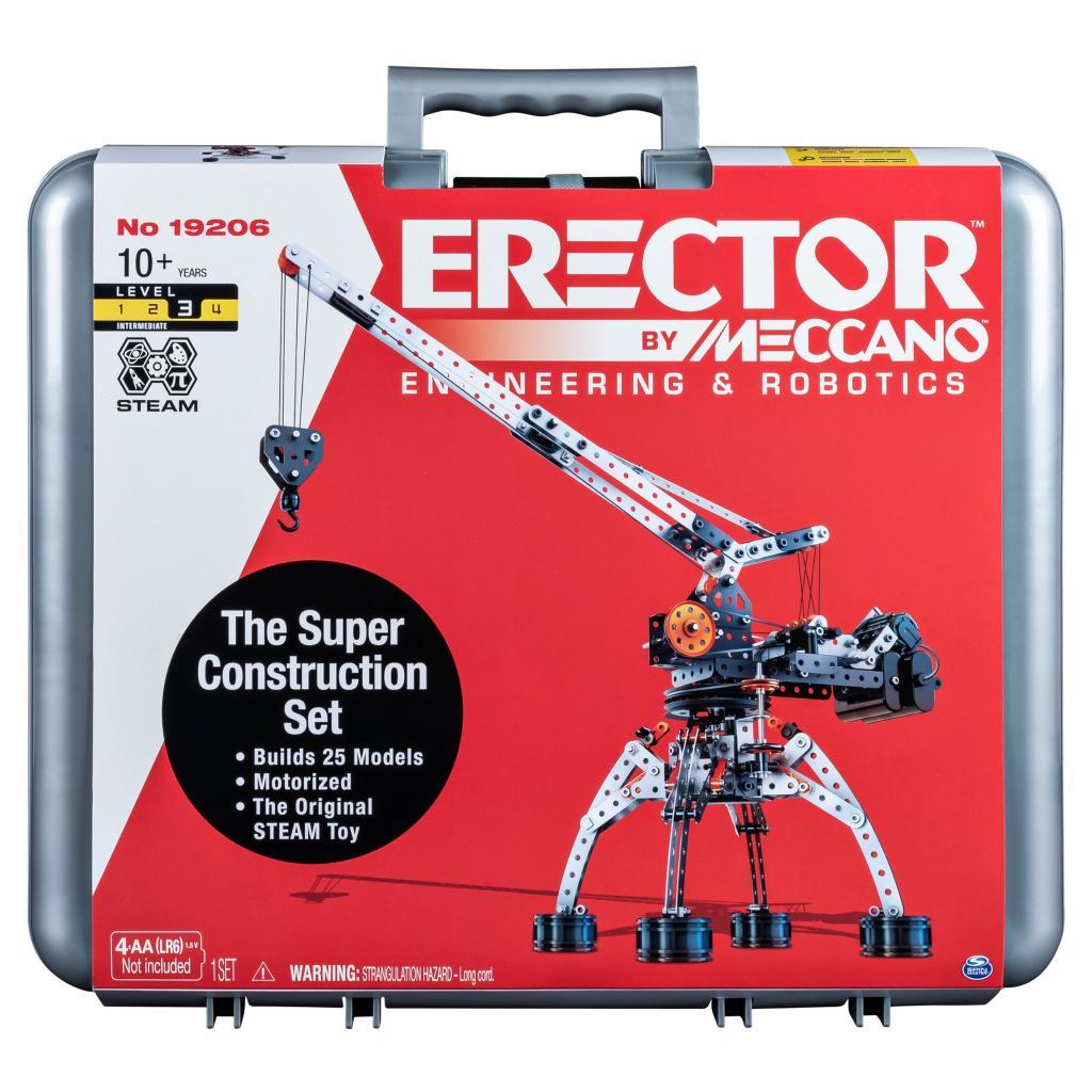 Erector by Meccano Super Construction Set