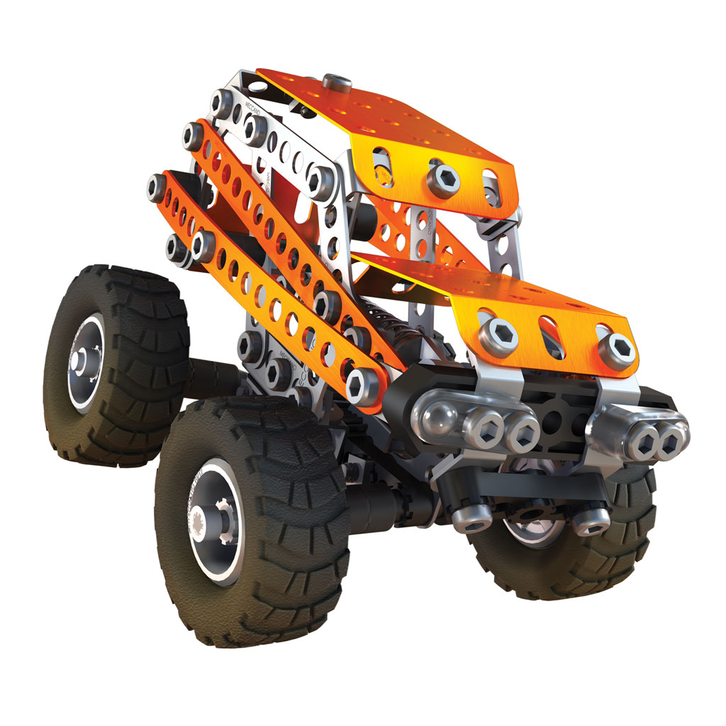 life with the meccano erector evolution off road set the future is