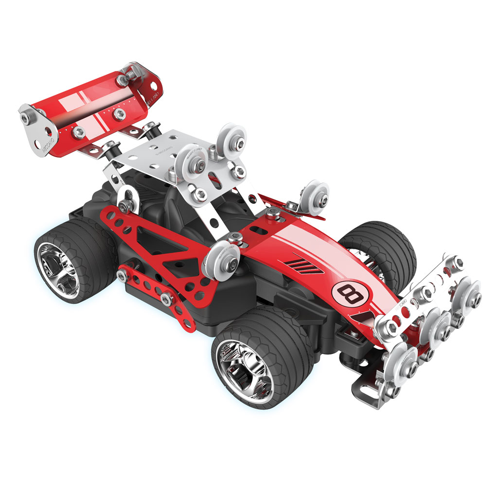 Spin Master Meccano Evolution Rc Remote Control Race Car Very Simple Radio R C Explore The Mechanical Wonders Of World As You Bring Your Models To Life With Erector Set