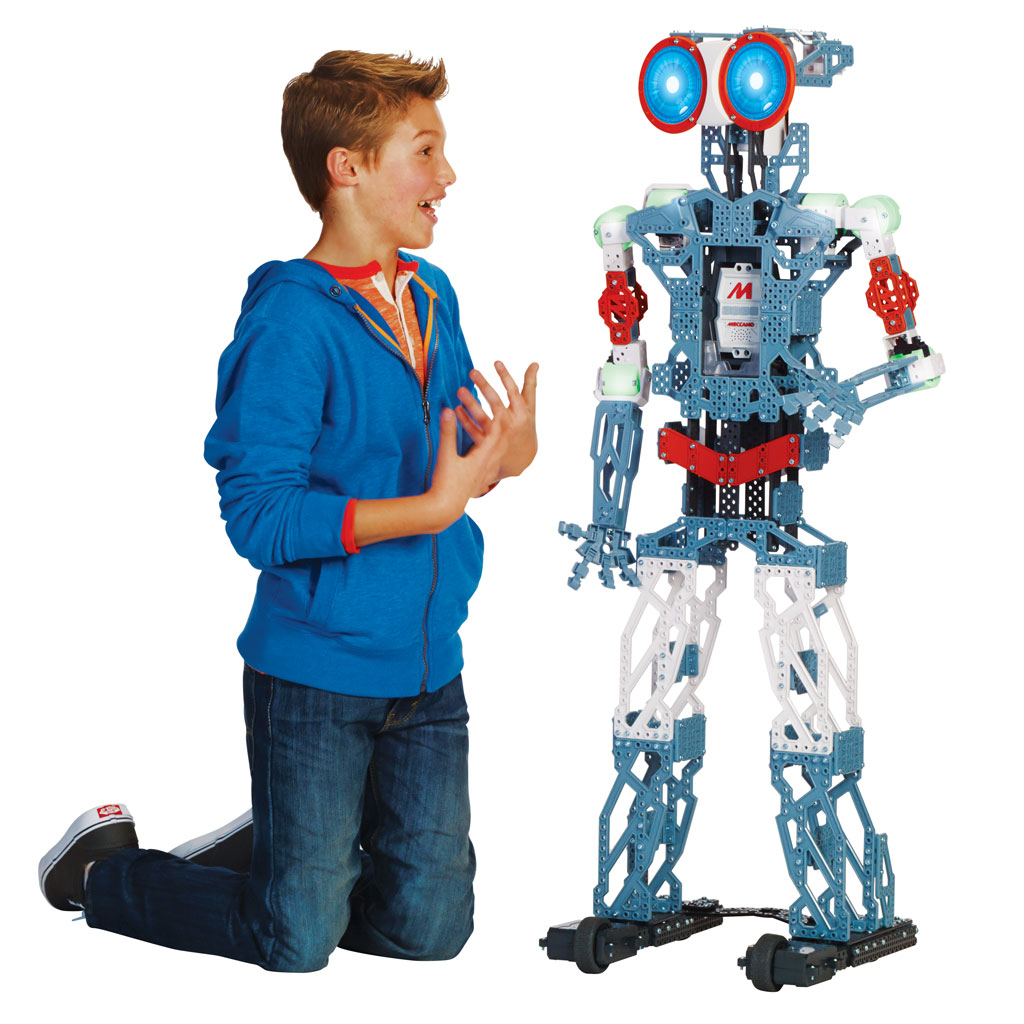 Christmas Robot Toys : Welcome to erector by meccano the original inventor brand