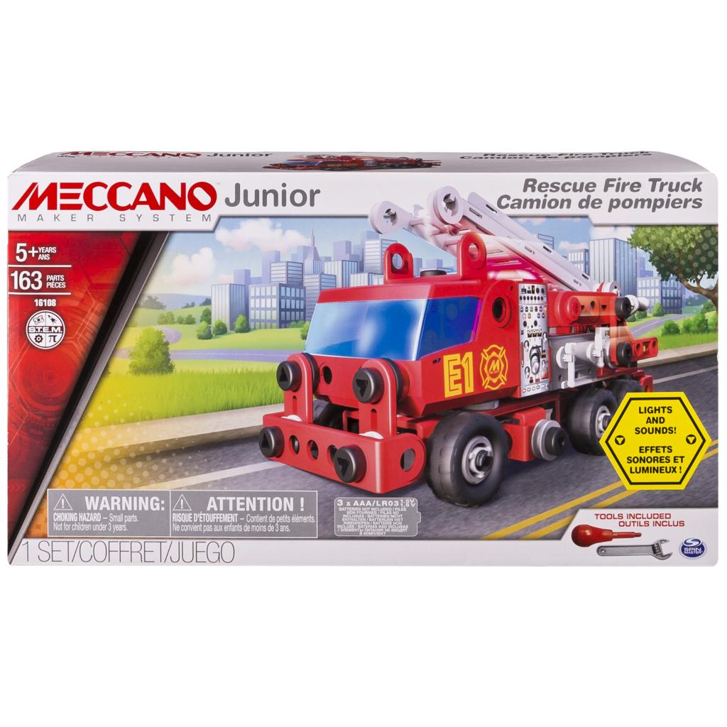 Commercial Truck Values >> Spin Master - Meccano Meccano Junior Rescue Fire Truck