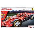 Meccano by Erector, Ferrari Grand Prix Racer STEM Building Kit with Poseable Steering, For Ages 10 and Up