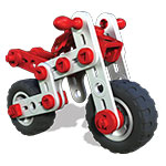 Meccano Junior - 3 Model Set, Mighty Cycles