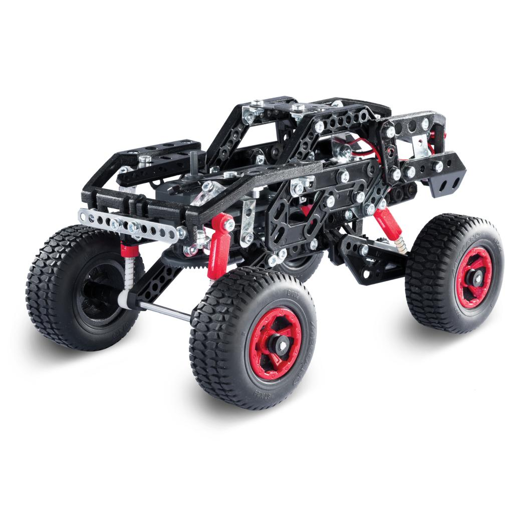 STEM Education /& Erector by Meccano Supercar 25-in-1 Model Vehicle Building Kit