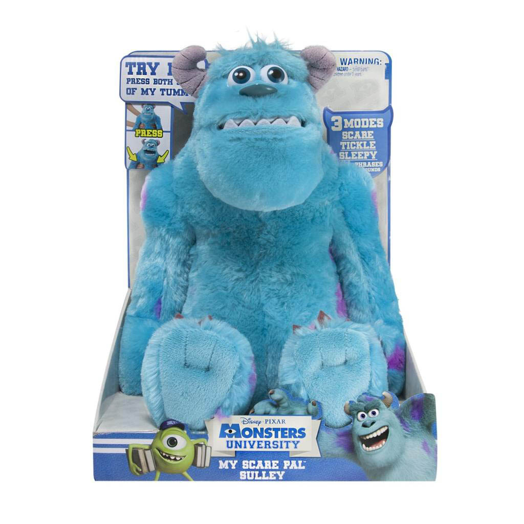 Spin master monsters university my scare pal sulley feature monsters university my scare pal sulley feature interactive plush voltagebd Image collections