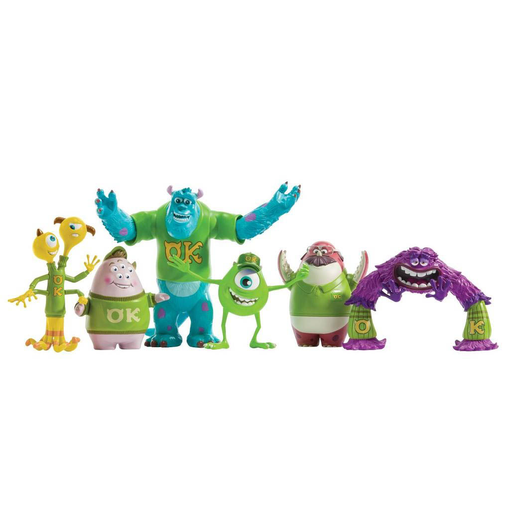 knap heet product heet product Spin Master - Monsters University Oozma Kappa Frat Pack
