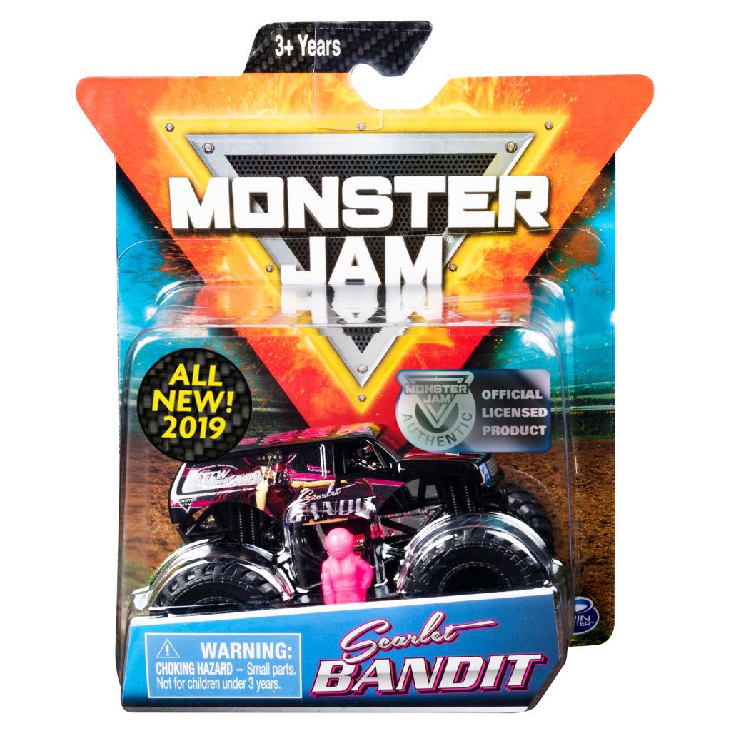 Spin Master - Monster Jam Monster Jam, Official Scarlet Bandit