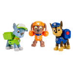 Action Pack Pups 3pk Figure Set Chase, Rocky, Zuma
