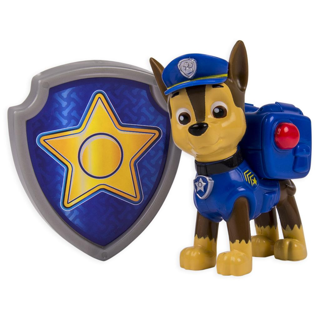 PAW Patrol Action Pack Pup & Badge, Chase