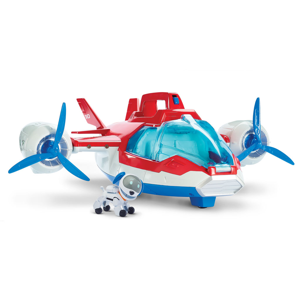 Lights and Sounds Air Patroller Plane