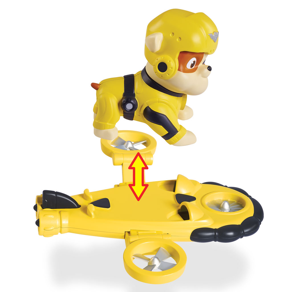 Spin Master Paw Patrol Pup Pack Amp Badge Rubble Air Rescue