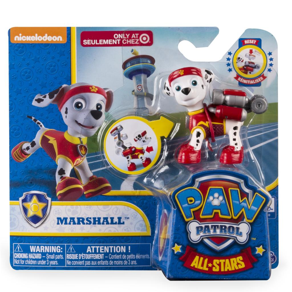 2a22543892ff PAW Patrol - All Stars Action Pack Pup - Marshall Details