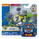 PAW Patrol - All Stars Action Pack Pup - Rocky Details