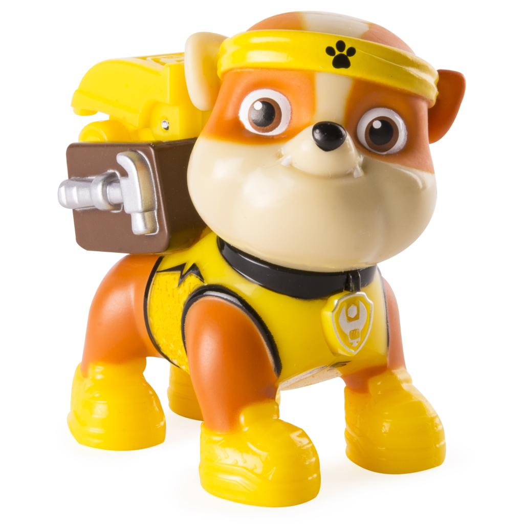 PAW Patrol - All Stars Action Pack Pup - Rubble