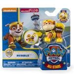 PAW Patrol - All Stars Action Pack Pup - Rubble Details