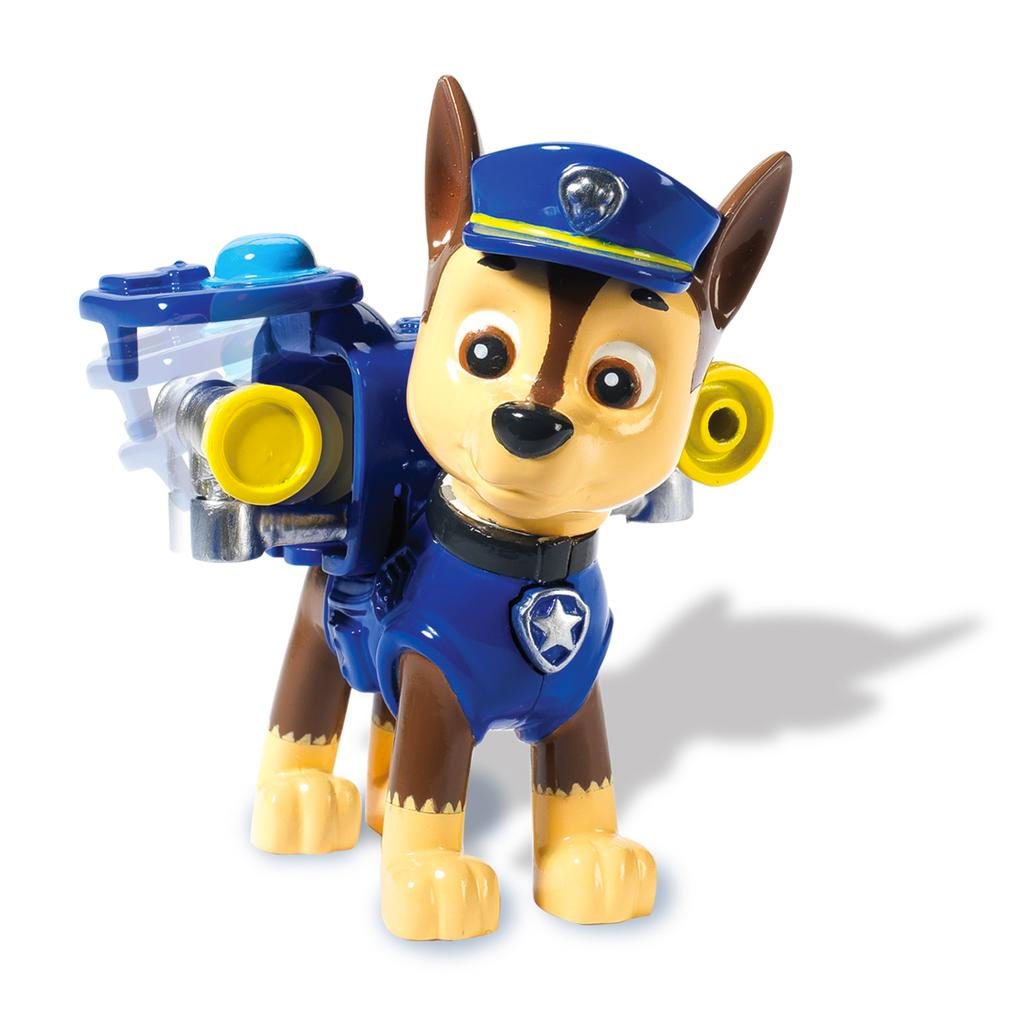 PAW Patrol Action Pack Pup & Badge - Chase