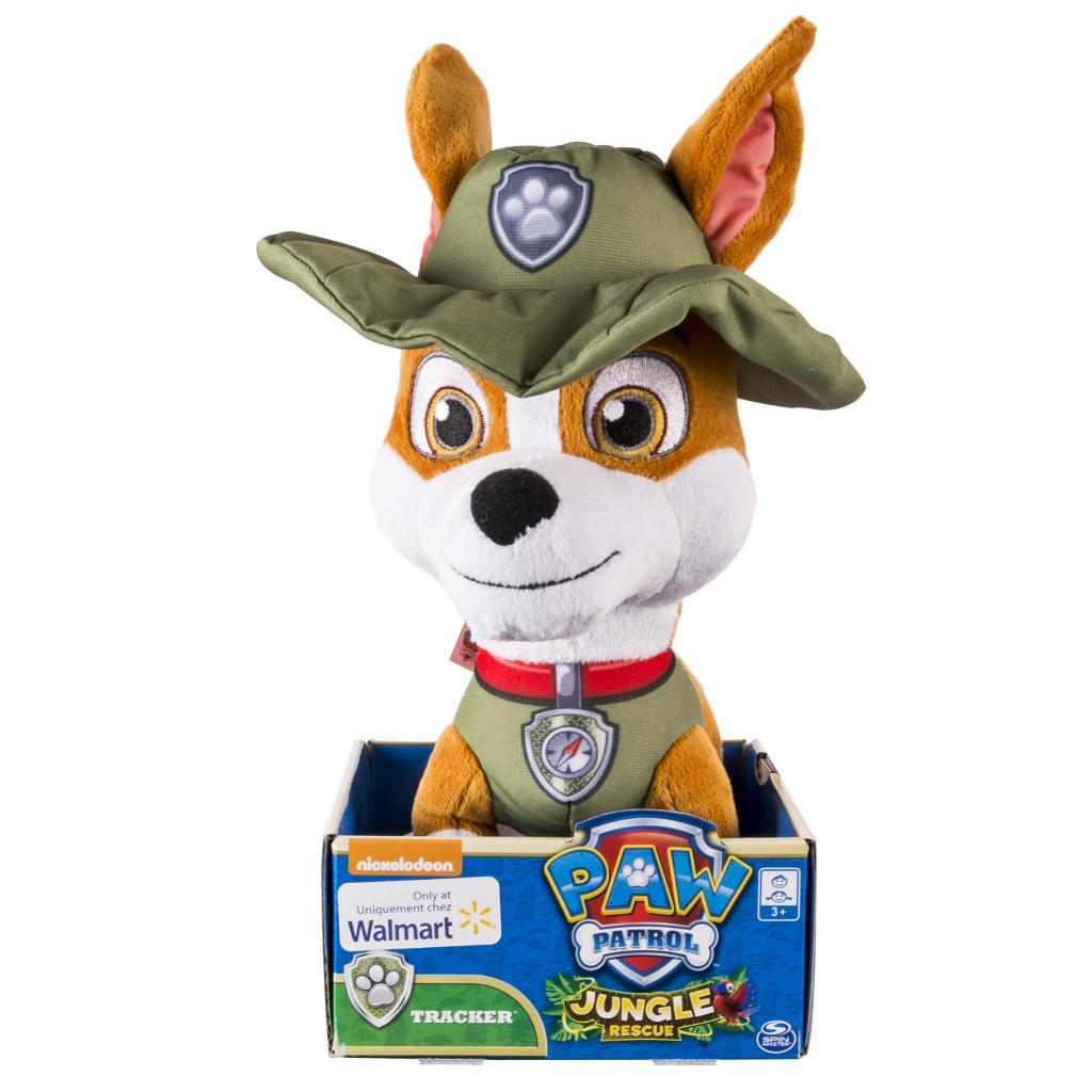 """spin master  paw patrol paw patrol basic 10"""" plush tracker"""