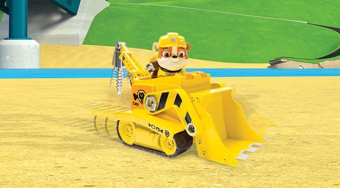 Rubble's Digg'n Bulldozer