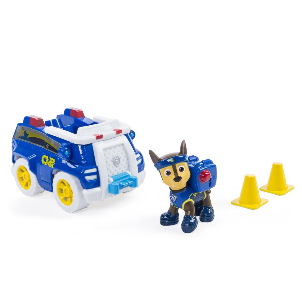PAW Patrol - Chase's All Stars Cruiser- Vehicle and Figure