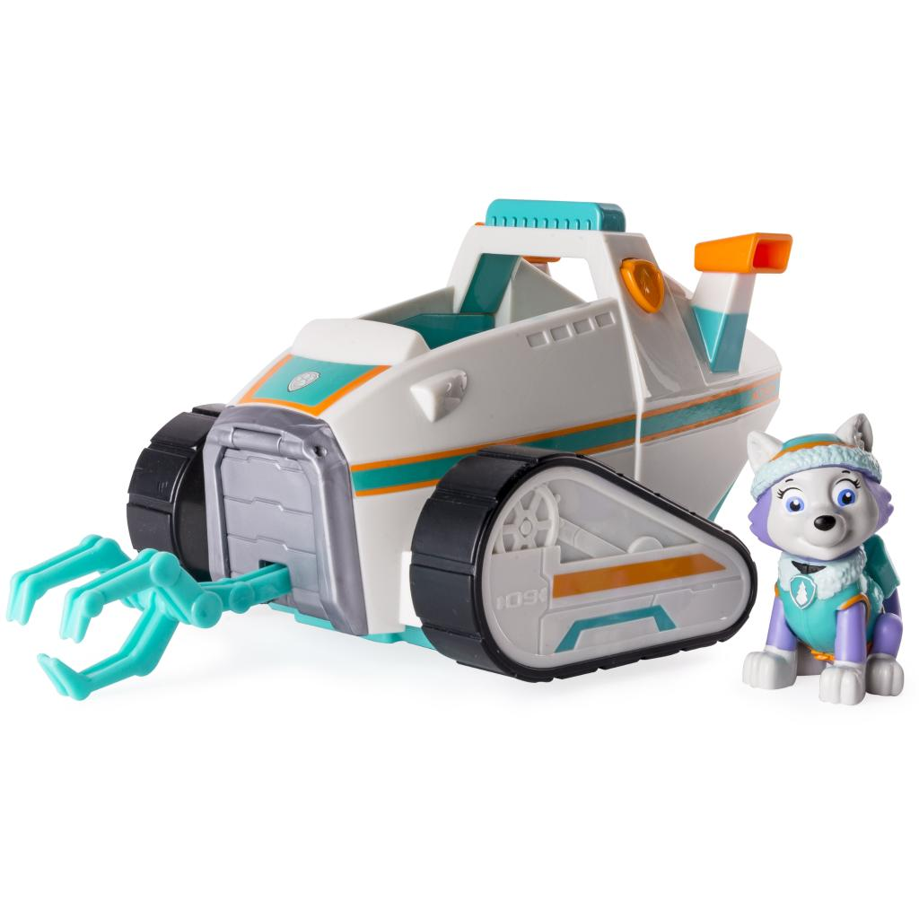 PAW Patrol - Everest's Pull Back Snowplow