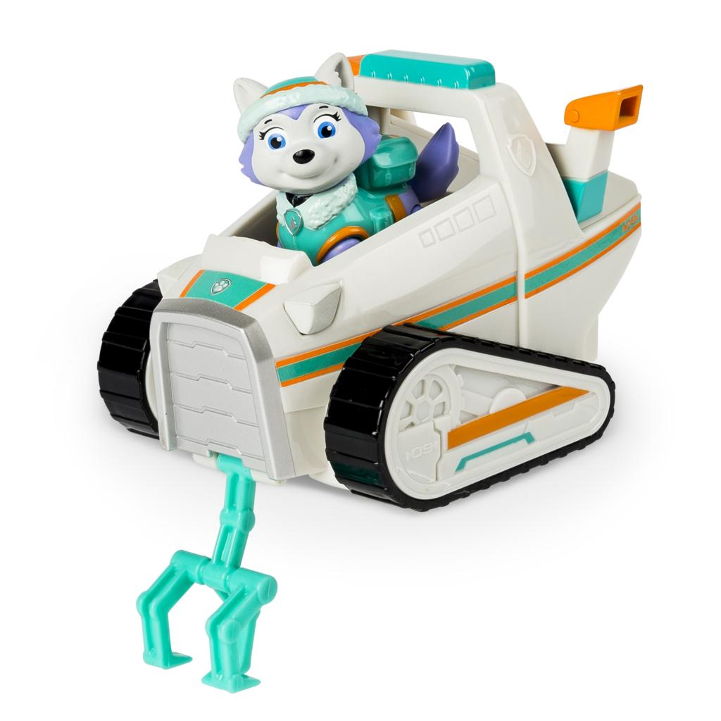 Paw Patrol Everest S Rescue Snowmobile Vehicle And Figure