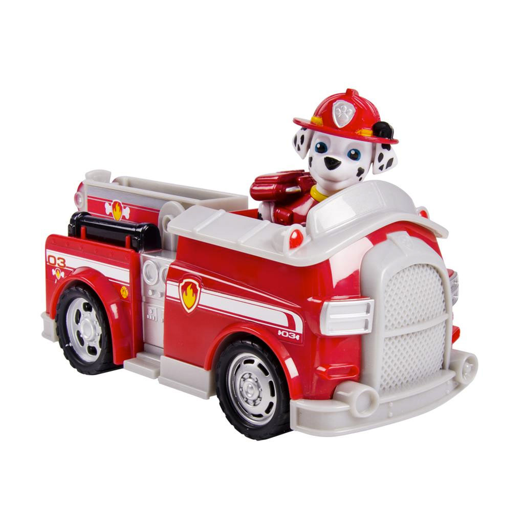 spin master paw patrol marshall s fire fightin truck