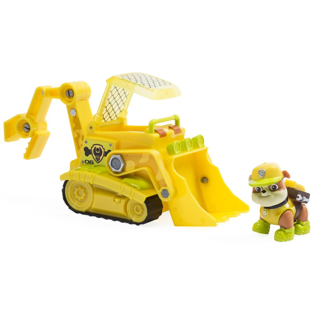 PAW Patrol - Jungle Rescue - Rubble's Jungle Bulldozer