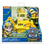 PAW Patrol - Jungle Rescue - Rubble's Jungle Bulldozer Details