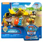 Lifeguard Rubble Figure with Removable Backpack and Bonus Sea Friend Details