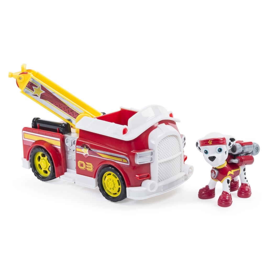 PAW Patrol - Marshall's All Stars Fire Truck - Vehicle and Figure