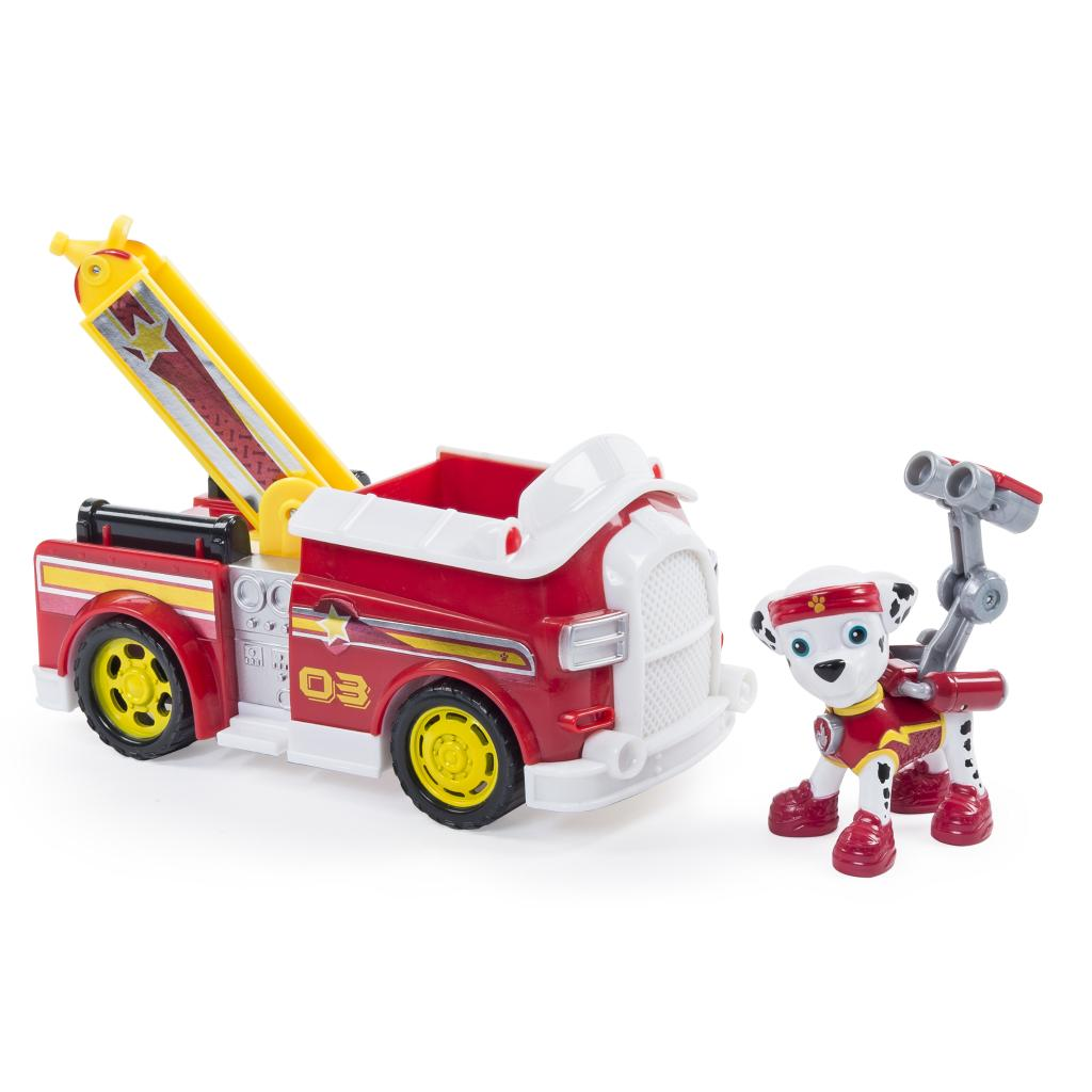 paw patrol marshall s all stars fire truck vehicle and figure