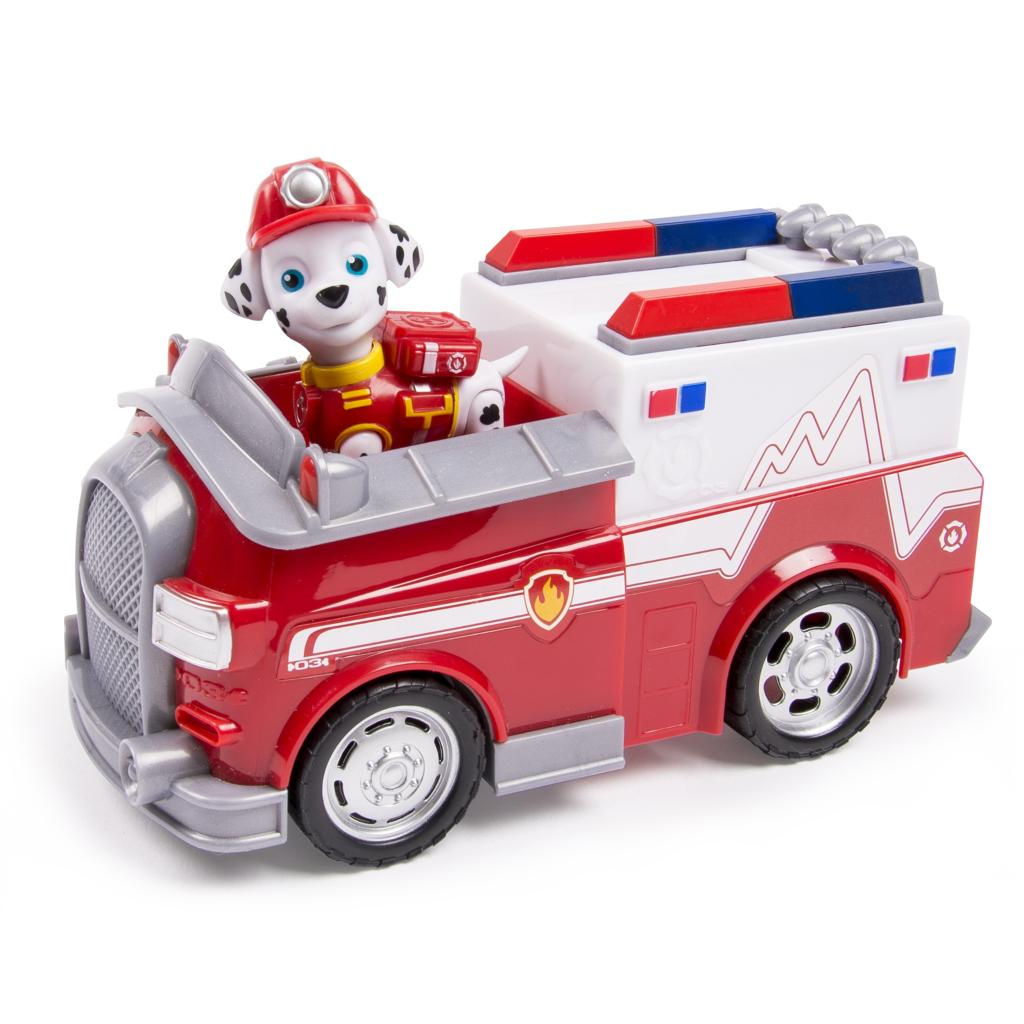 spin master paw patrol paw patrol marshall s firetruck vehicle