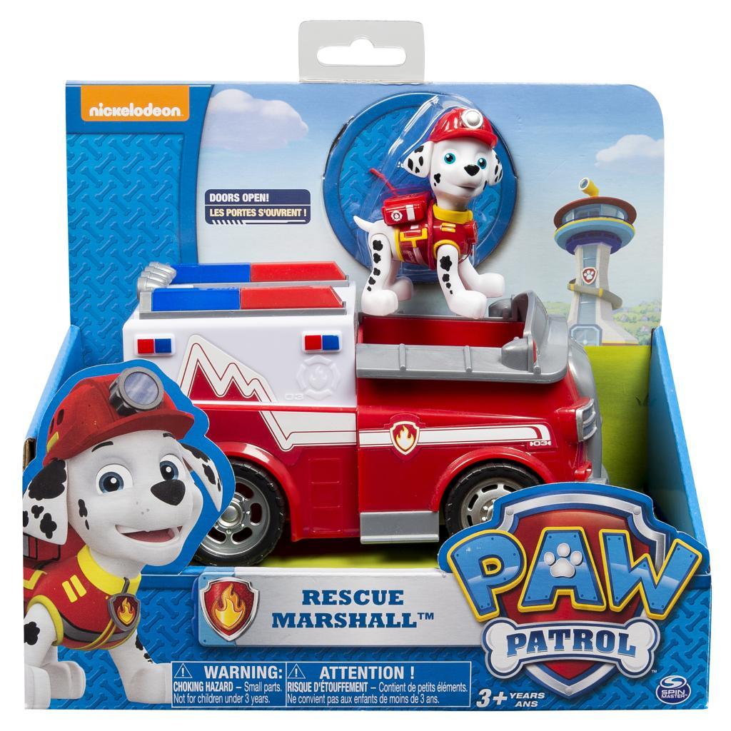 spin master paw patrol paw patrol marshall 39 s firetruck. Black Bedroom Furniture Sets. Home Design Ideas